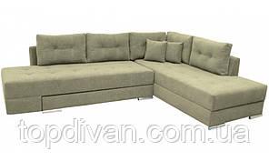 """Кутовий диван """"Прінстон"""". Donna 19. Габарити: 2,95 х 2,10 Спальне місце: 2,00 х 1,60"""