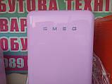 Двокамерний холодильник Smeg FAB32 Рожевий, фото 4