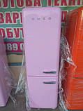 Двокамерний холодильник Smeg FAB32 Рожевий, фото 5