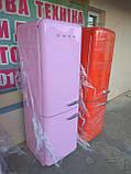 Двокамерний холодильник Smeg FAB32 Рожевий, фото 6