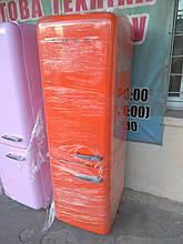 Двокамерний холодильник Smeg FAB32 Помаранчевий