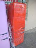 Двокамерний холодильник Smeg FAB32 Помаранчевий, фото 2