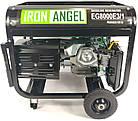 Генератор IRON ANGEL EG 8000 E3/1, фото 3