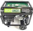 Генератор IRON ANGEL EG 8000 E3/1, фото 4