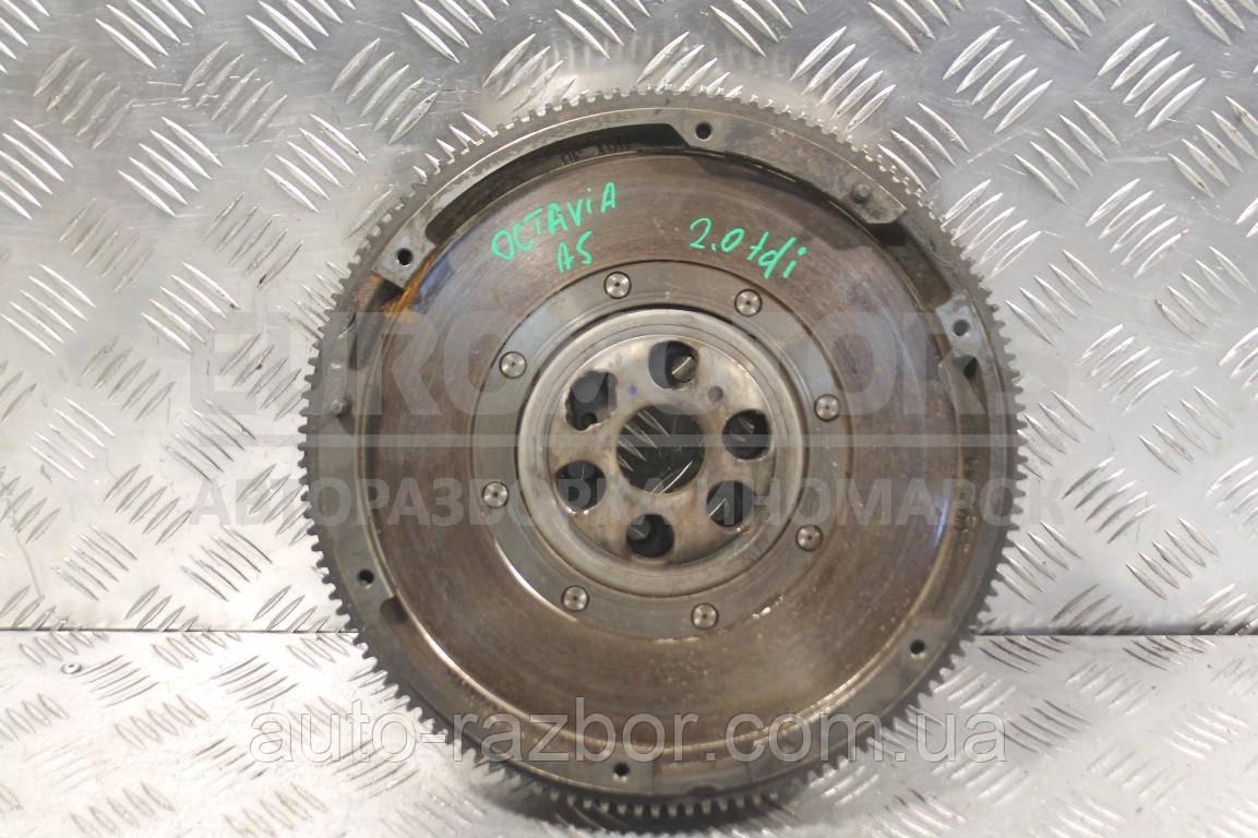 Маховик демпферный Skoda Octavia 2.0tdi (A5) 2004-2013 03G105266 134456