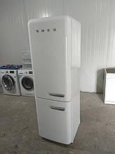 Двокамерний холодильник Smeg FAB32 Білий