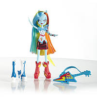 Май литл пони My Little Pony Equestria Girls Кукла Rainbow Dash с гитарой