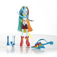 Травень літл поні My Little Pony Equestria Girls Лялька Rainbow Dash з гітарою