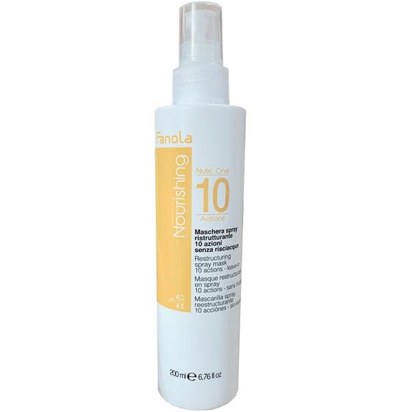 Спрей 10 функцій для сухого волосся Fanola Nourishing (Nutri Care) 200 мл