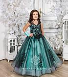 Пышное нарядное платье Камелия на 4-5, 6-7, 8-9 лет, фото 7