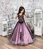 Пышное нарядное платье Камелия на 4-5, 6-7, 8-9 лет, фото 8