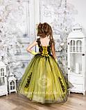 Пышное нарядное платье Камелия на 4-5, 6-7, 8-9 лет, фото 3