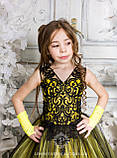 Пышное нарядное платье Камелия на 4-5, 6-7, 8-9 лет, фото 4