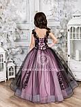 Пышное нарядное платье Камелия на 4-5, 6-7, 8-9 лет, фото 9
