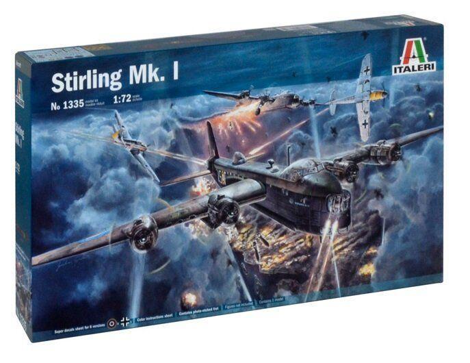 Italeri 1/72 Stirling Mk. I