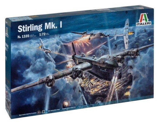 Italeri 1/72 Stirling Mk. I, фото 2