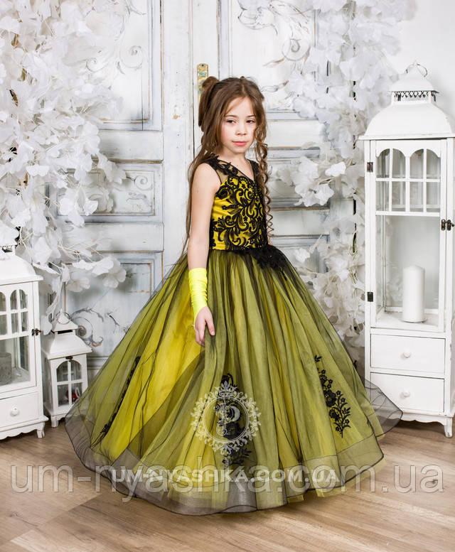 платье на выпускной из сада