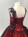Пышное нарядное платье Камелия на 4-5, 6-7, 8-9 лет, фото 2