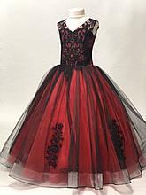 Пышное нарядное платье Камелия на 4-5, 6-7, 8-9 лет