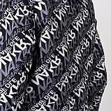 Чоловіча демісезонна куртка, чорно-білого кольору, фото 9