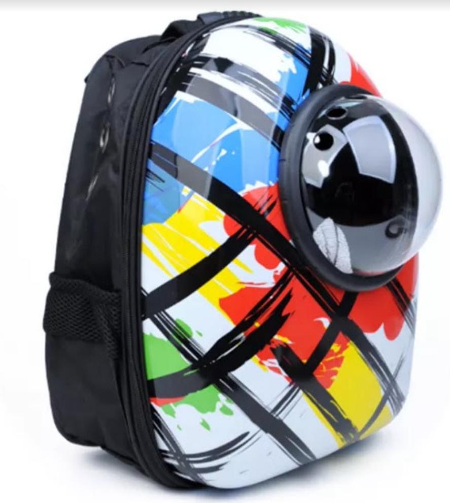 Рюкзак переноска для кошек и небольших собак с иллюминатором