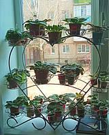 Фиалка-1, подставка для цветов на 28 чаш, фото 1