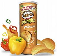 Чипсы с паприкой Pringles Sour Paprika, 165г