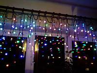 Гирлянда Бахрома, «Шарики», 3 м - разноцветная, фото 1