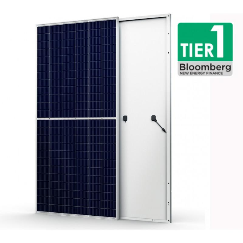 Сонячна панель Trina TSM-DE19 (сонячна батарея,фотомодуль,зелений тариф,сонячна електростанція)