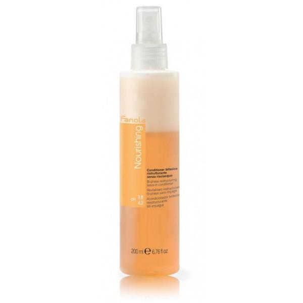 Двофазний спрей для волосся з кератином Fanola Nourishing (Nutri Care) Bi-Phase Conditioner 200 мл