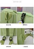 (4в1-как на фото)Рюкзак девушка 4в1 ткань Оксфорд сделанный в Китай спортивный городской стильный опт, фото 8