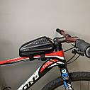 """Велосипедна сумка на раму """"Блискавка"""", фото 8"""