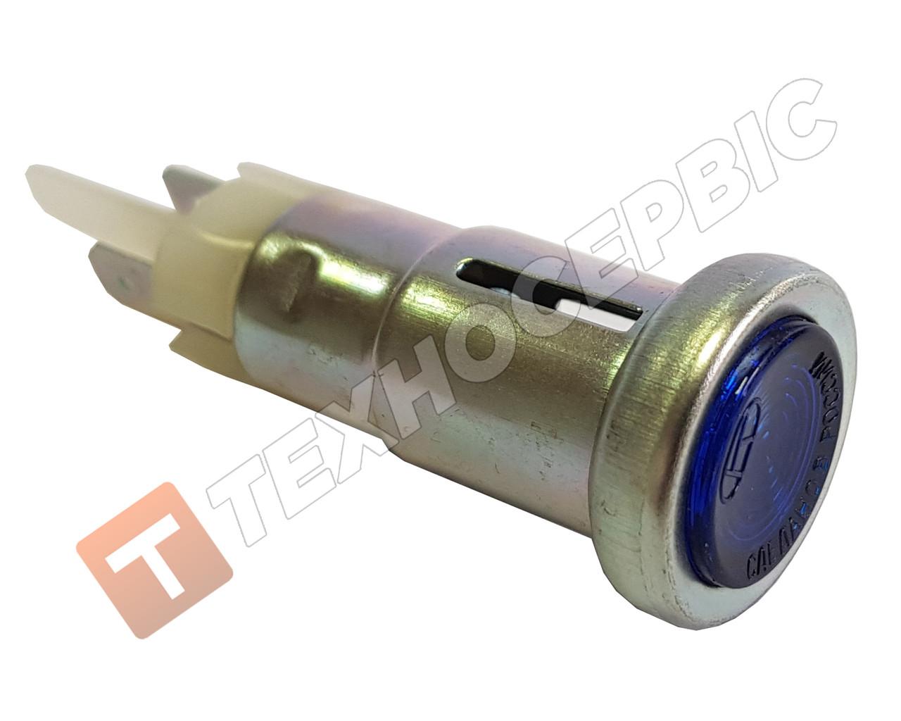 Ліхтар контрольної лампи покажчиків поворотів синій(вічко)12в
