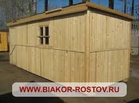 Изготовление бытовки деревянные