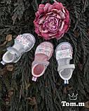 Кожаные  босоножки для девочки Tom.m 9223B, 20-25 размеры., фото 3