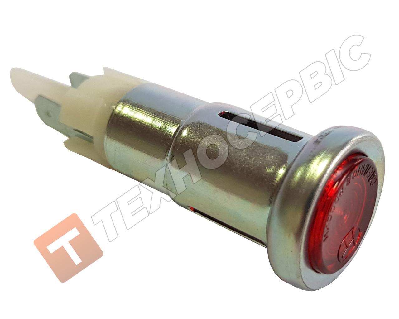 Ліхтар контрольної лампи покажчиків поворотів червоний(вічко)12в