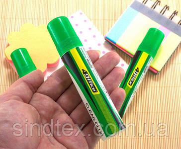 Клей силикатный,  30мл, прозрачный клей, 4Office (сп7нг-5675)