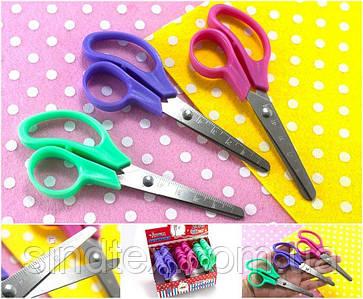 Ножницы канцелярские детские12,5см (без выбора цвета!) (сп7нг-5691)