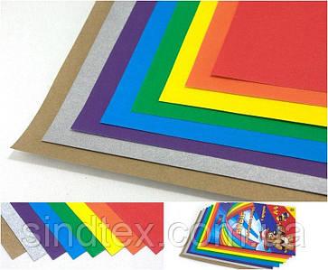 Цветная  бумага 8 листов (6 цветов + золото+серебро), A4 (сп7нг-5685)