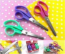 Ножиці канцелярські дитячі 12,5 см (без вибору кольору!) (сп7нг-5691)
