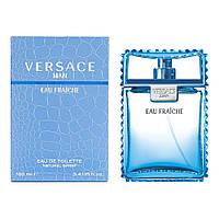 Мужские духи Versace Man Eau Fraiche 100 ml Версаче Мен Фреш мужской парфюм туалетная вода мужская