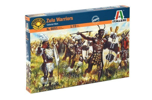 Italeri 1/72 Zulu Warriors, фото 2