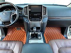 Комплект Ковриков 3D + Багажник Toyota LC 200 Lexus LX
