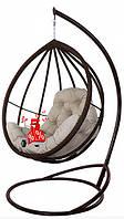 Садовое подвесное кресло качели кокон Хелена, подвесное кресло яйцо, кресло-качели,подвесные садовые качели