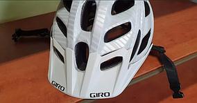 Шолом Giro Hex матовий білий Lines, М (55-59см).