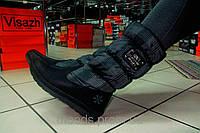 Ботинки женские, серые, дутики. Венгрия. Р. 36 38