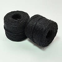 Шпагат джутовий чорний 45 м.