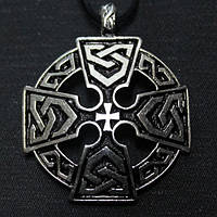 Кулон Кельтский крест №4
