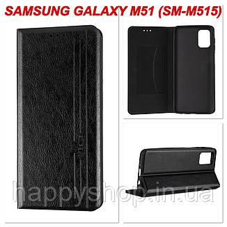 Чохол-книжка Gelius Leather New для Samsung Galaxy M51 (SM-M515) Чорний, фото 2
