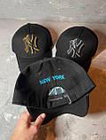 Жіноча бейсболка кепка NY з логотипом, фото 2